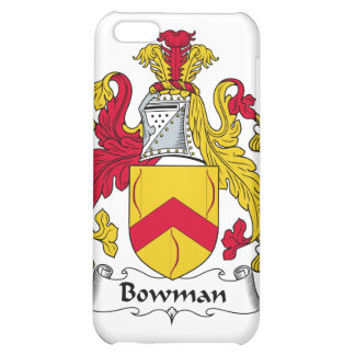 Bowman Family Crest Case For iPhone 5C