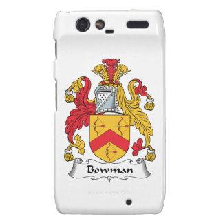 Bowman Family Crest Droid RAZR Cases