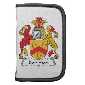 Bowman Family Crest Folio Planner