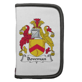 Bowman Family Crest Folio Planners
