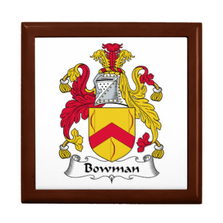 Bowman Family Crest Gift Box
