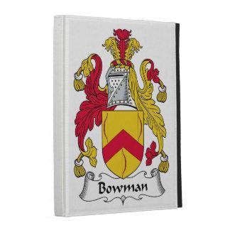 Bowman Family Crest iPad Folio Case