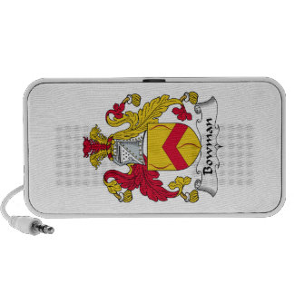 Bowman Family Crest Mp3 Speakers