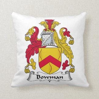 Bowman Family Crest Pillow