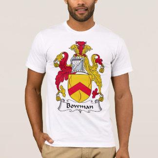 Bowman Family Crest T-Shirt
