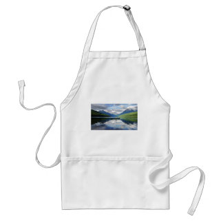 Bowman Lake - Glacier National Park Montana Adult Apron