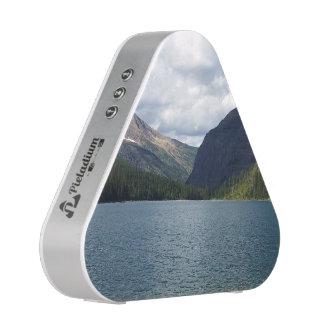 Bowman Lake - Glacier National Park Montana Bluetooth Speaker