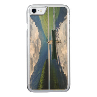 Bowman Lake - Glacier National Park Montana Carved iPhone 7 Case