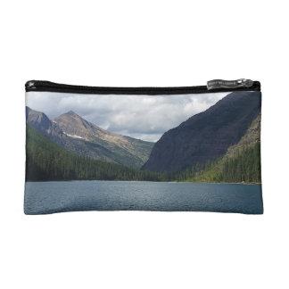Bowman Lake - Glacier National Park Montana Makeup Bag