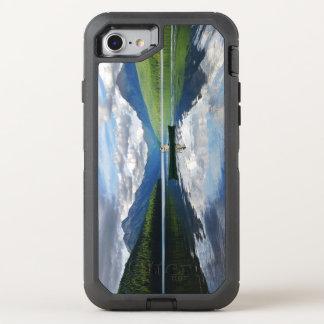 Bowman Lake - Glacier National Park Montana OtterBox Defender iPhone 7 Case
