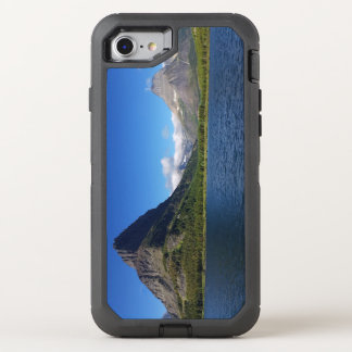 Bowman Lake - Glacier National Park Montana OtterBox Defender iPhone 7 Case