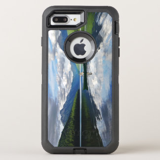 Bowman Lake - Glacier National Park Montana OtterBox Defender iPhone 7 Plus Case