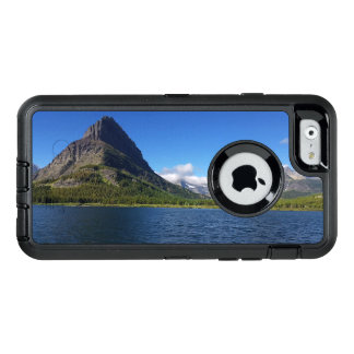 Bowman Lake - Glacier National Park Montana OtterBox Defender iPhone Case