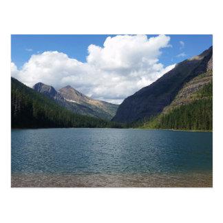 Bowman Lake - Glacier National Park Montana Postcard