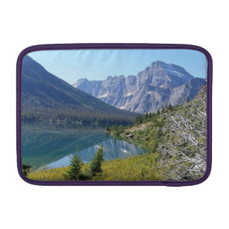 Bowman Lake Glacier National Park Sleeve For MacBook Air
