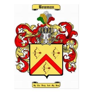 bowman post card