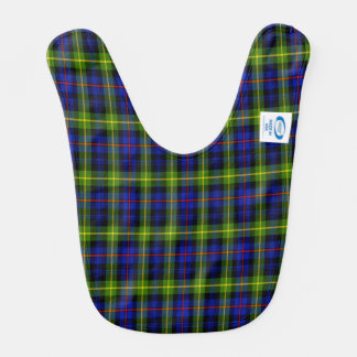 Bowman Scottish Family Tartan Baby Bib