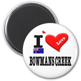 BOWMANS CREEK - I Love Magnet