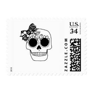 Bownified Skull Postage