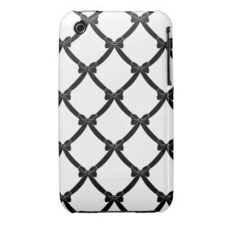 bows_black de la casamata #1 iPhone 3 protectores
