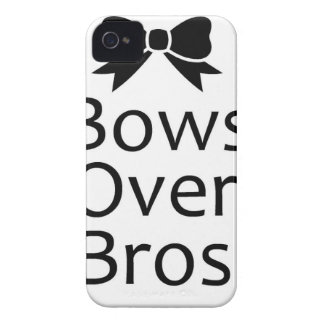 bows over bros- black iPhone 4 Case-Mate cases