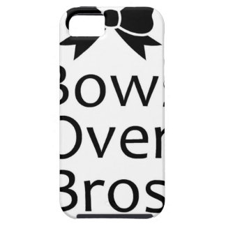 bows over bros- black iPhone 5 covers
