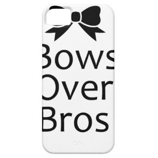 bows over bros- black iPhone 5 case