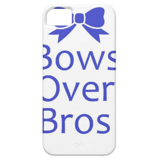 Bows Over Bros- Blue iPhone 5 Case