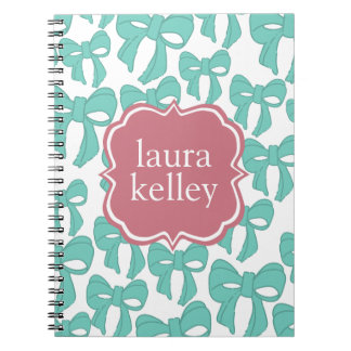 Bows Spiral Note Books
