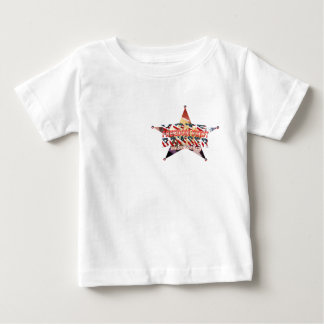 Bowser4Sheriff Badge Baby T-Shirt