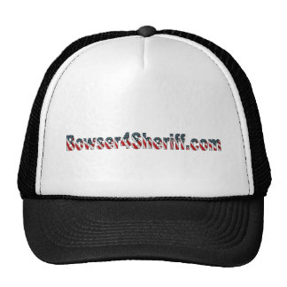 Bowser4Sheriff Trucker Hat
