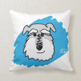 Bowser the Schnauzer - Custom Pillow