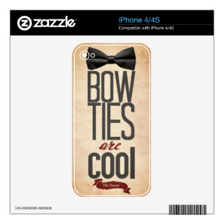 Bowtie iPhone 4/4s Skin Decals For iPhone 4