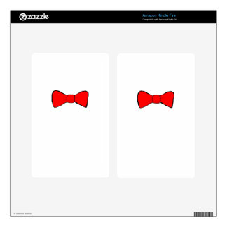 bowtie kindle fire decal