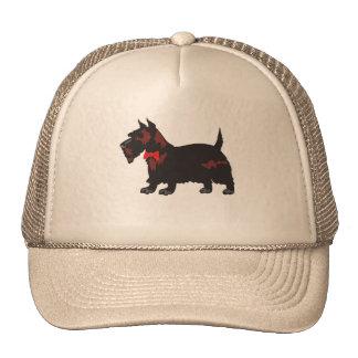 Bowtie Schnauzer Trucker Hat