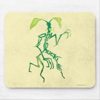 Bowtruckle Typography Graphic Mouse Pad