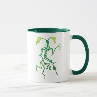 Bowtruckle Typography Graphic Mug