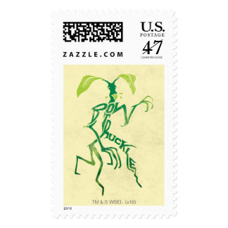 Bowtruckle Typography Graphic Postage