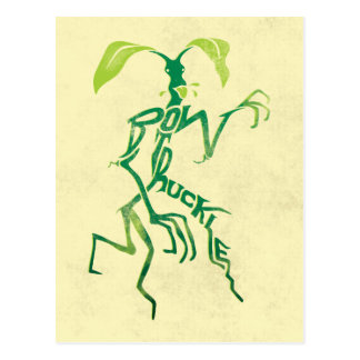 Bowtruckle Typography Graphic Postcard
