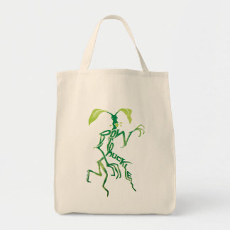 Bowtruckle Typography Graphic Tote Bag