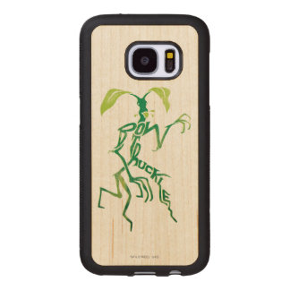 Bowtruckle Typography Graphic Wood Samsung Galaxy S7 Case