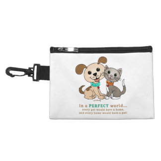 BowWow and MeeYow (Pet Adoption-Humane Treatment) Accessories Bags