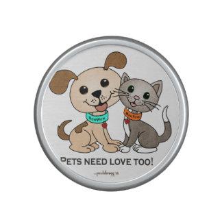 BowWow and MeeYow (Pet Adoption-Humane Treatment) Bluetooth Speaker