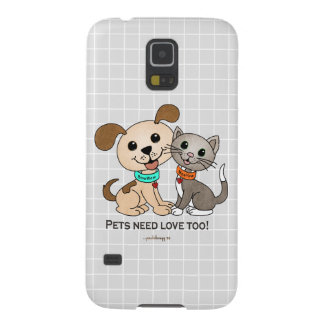 BowWow and MeeYow (Pet Adoption-Humane Treatment) Case For Galaxy S5
