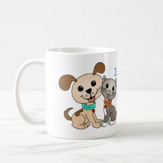 BowWow and MeeYow (Pet Adoption-Humane Treatment) Coffee Mug