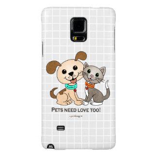 BowWow and MeeYow (Pet Adoption-Humane Treatment) Galaxy Note 4 Case