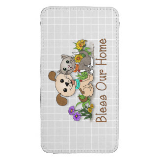 BowWow and MeeYow (Pet Adoption-Humane Treatment) Galaxy S4 Pouch