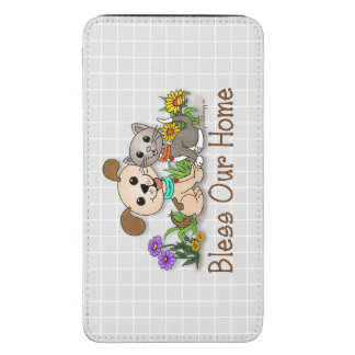 BowWow and MeeYow (Pet Adoption-Humane Treatment) Galaxy S5 Pouch