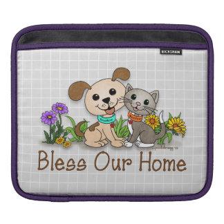 BowWow and MeeYow (Pet Adoption-Humane Treatment) iPad Sleeve