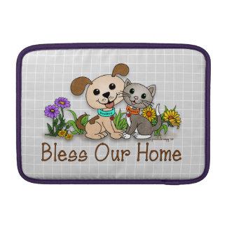 BowWow and MeeYow (Pet Adoption-Humane Treatment) MacBook Sleeve